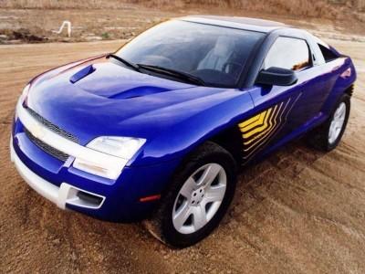 Concept Flashback - 2001 Chevrolet BORREGO Concept 3