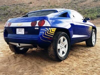 Concept Flashback - 2001 Chevrolet BORREGO Concept 5