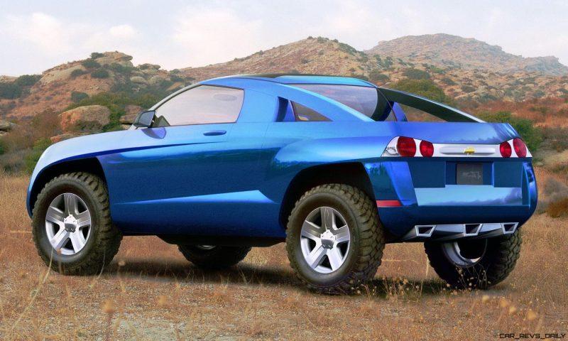Concept Flashback - 2001 Chevrolet BORREGO Concept 6