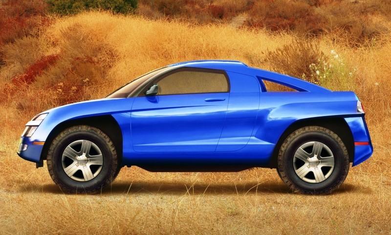 Concept Flashback - 2001 Chevrolet BORREGO Concept 7