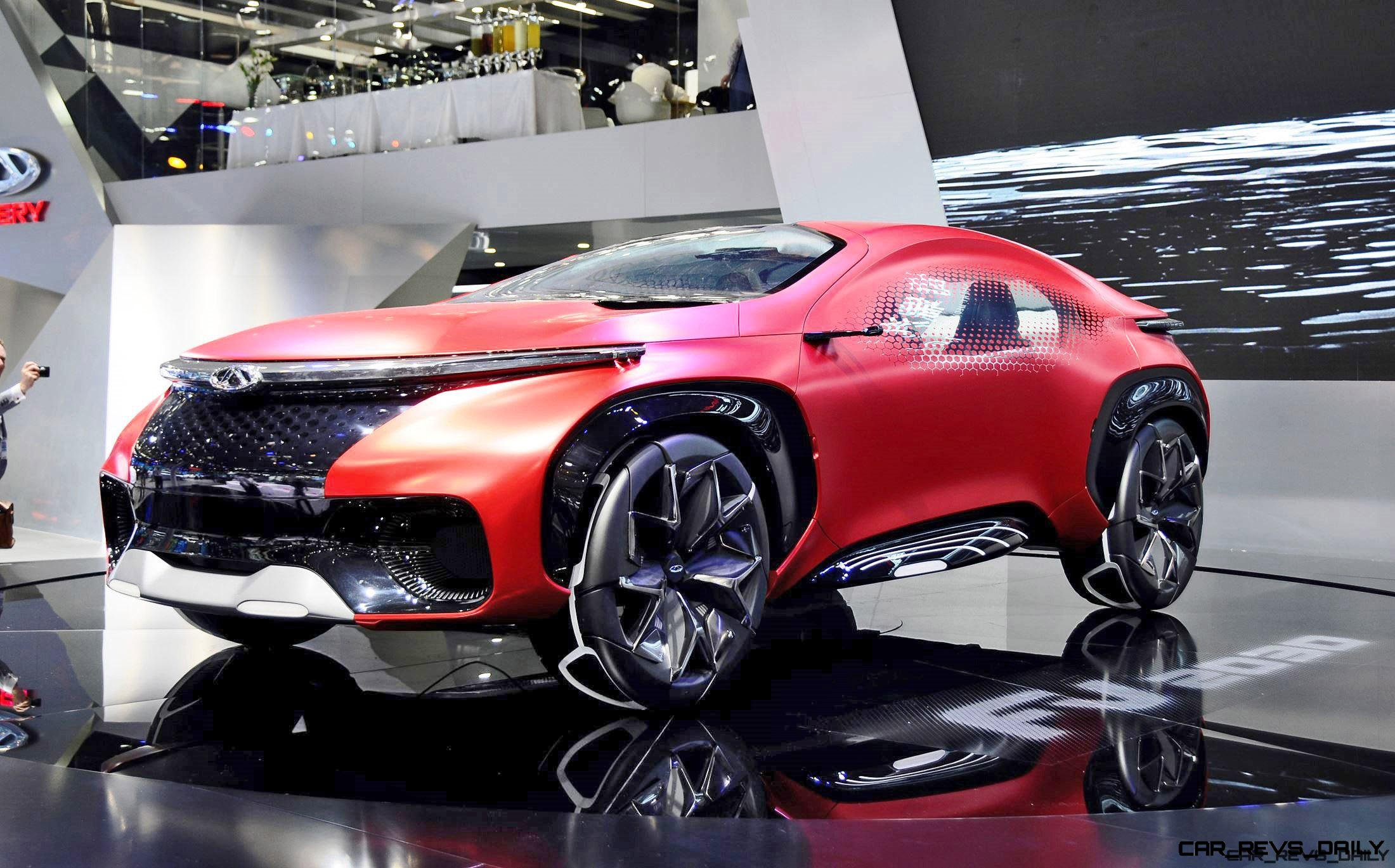 2016 Delhi Auto Expo Top 10 Concept Cars: Top 10 Chinese CONCEPT Cars And SUVs! » CUSTOMS