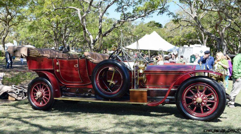 Kiawah 2016 - 1911 Rolls-Royce Silver Ghost - Video Startup and Walkthrough of Pre-War Lineup