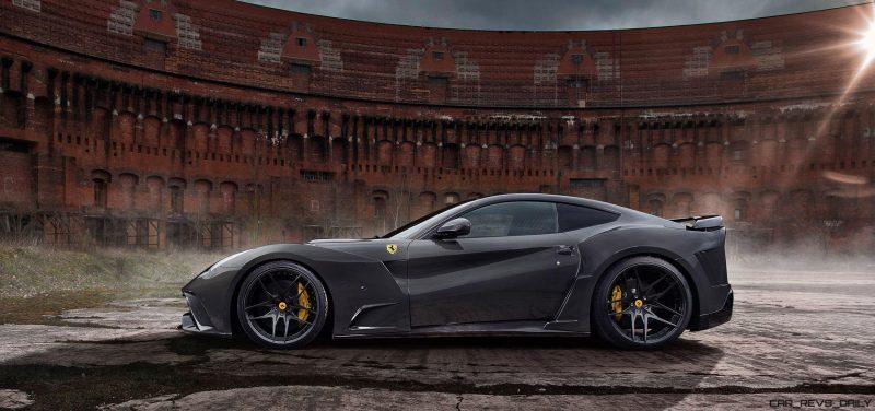 784HP, 218-MPH Ferrari F12 N-Largo S by Novitec Rosso