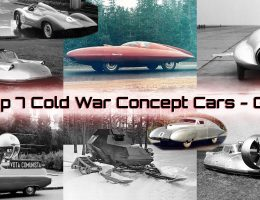 Top 7 Soviet Concept Cars – GAZ Streamliners, Armored Snowmobile, JetCar and HoverCar!