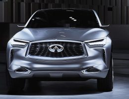 2016 INFINITI QX Sport Inspiration Concept Bows in Beijing