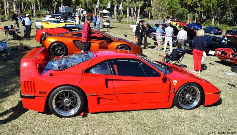 Kiawah 2016 Highlights - 1992 Ferrari F40 13