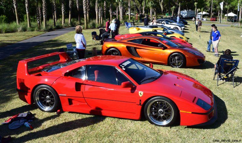 Kiawah 2016 Highlights - 1992 Ferrari F40 6