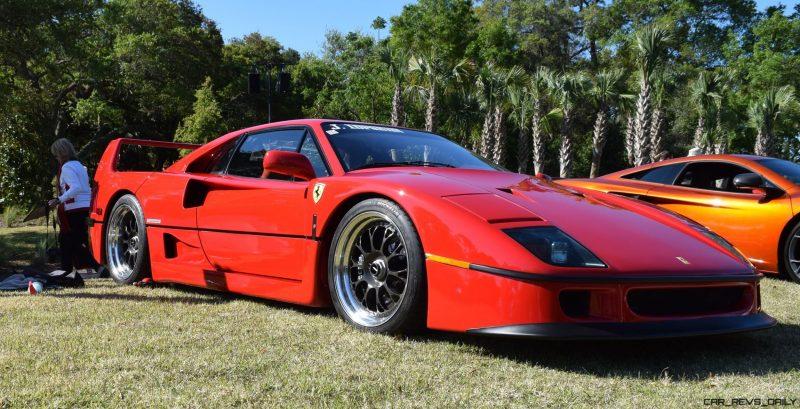 Kiawah 2016 Highlights - 1992 Ferrari F40 7