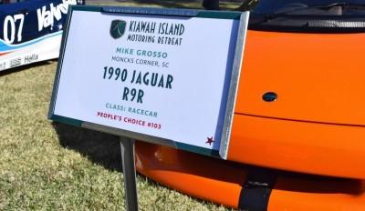 Kiawah Concours 2016 - 1990 Jaguar R9R aka XJR-15 1
