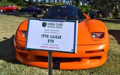 Kiawah Concours 2016 - 1990 Jaguar R9R aka XJR-15 2