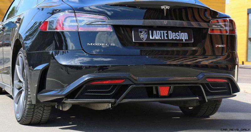 LARTE Design TESLA Model S P85D Elizabeta 1