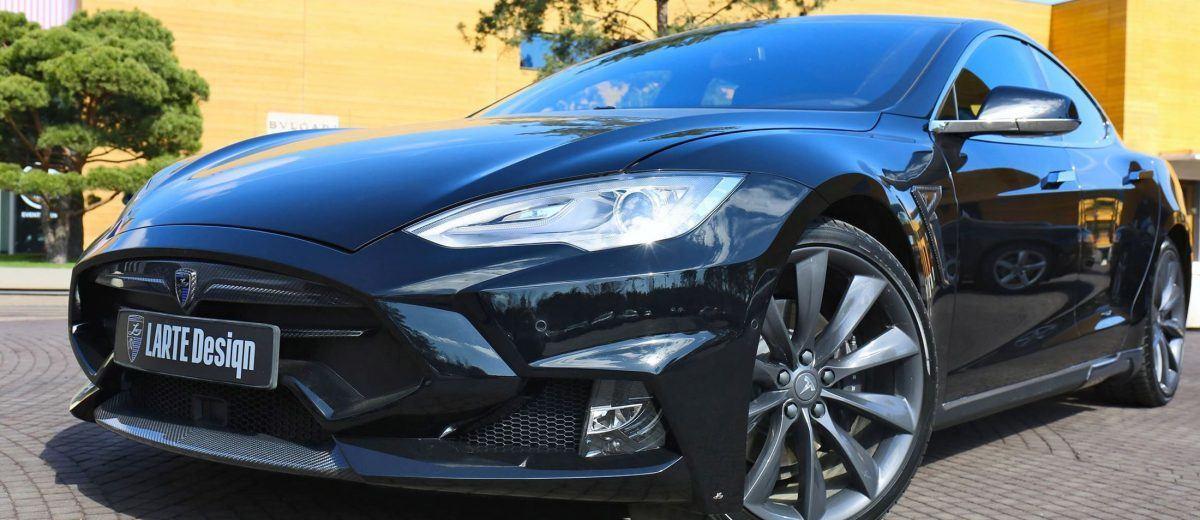 LARTE Design TESLA Model S P85D Elizabeta Mods Are Hot!