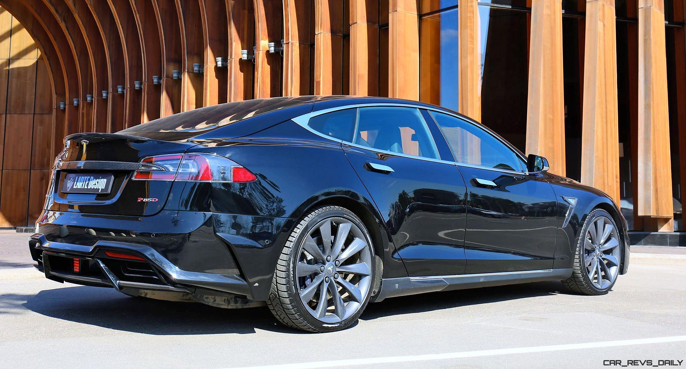 larte design tesla model s p85d elizabeta mods are hot car revs. Black Bedroom Furniture Sets. Home Design Ideas