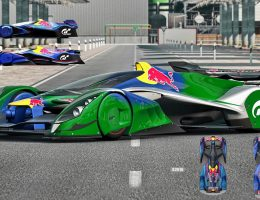 Gran Turismo Red Bull X2014 Fan Car – Genius Racer… Now in 4D, Desktop Size