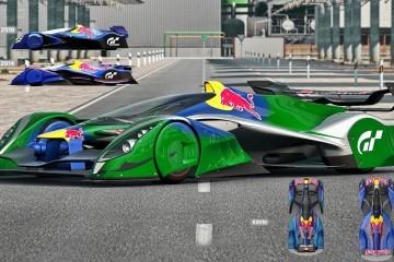 Gran Turismo Red Bull X2014 Fan Car - Genius Racer... Now in 4D, Desktop Size