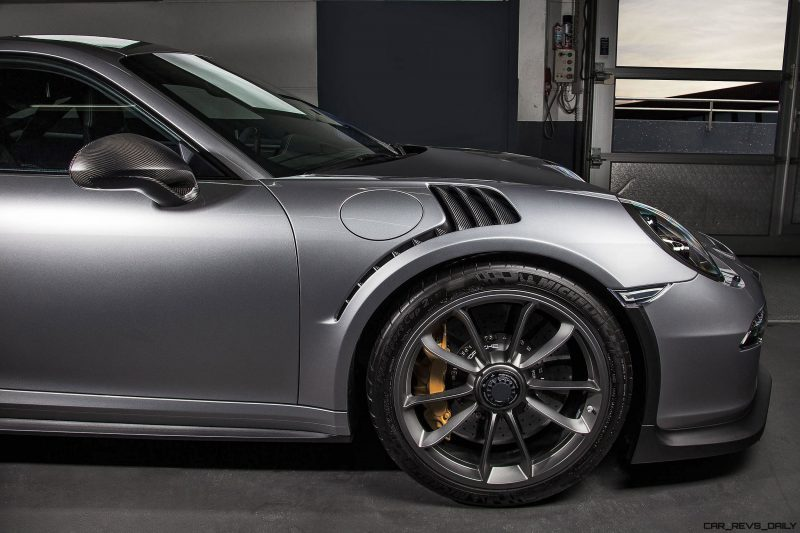 TECHART Carbon Sport Package for the 911 GT3 RS 18