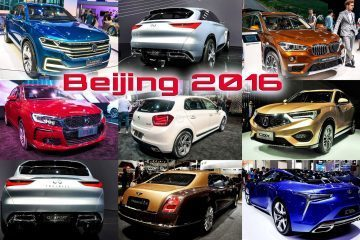 BEIJING 2016 - Analysis: State of the Chinese Car Industry + Top 12 Global-Brand Debuts