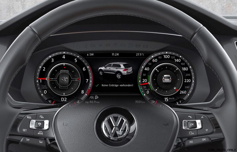 Volkswagen Tiguan Active Info Display