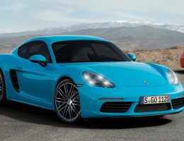4.2s, 350HP 2017 Porsche 718 CAYMANS Revealed!  Boosted Boxer Fours Are Faster, Cheaper