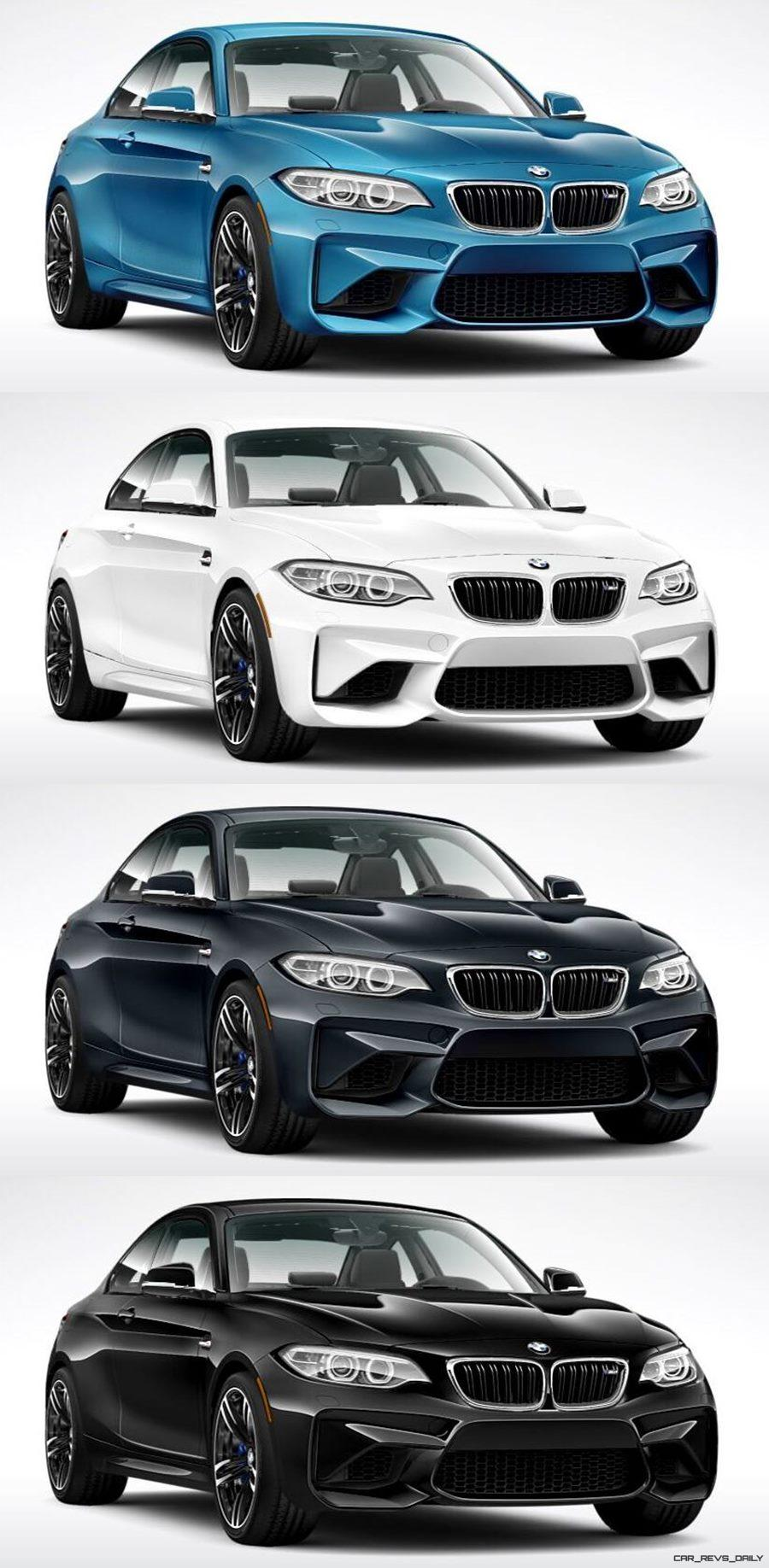 2016 bmw m2 animated configurator colors pricing and. Black Bedroom Furniture Sets. Home Design Ideas