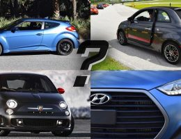 Which Car Wins? 2016 Fiat 500 Abarth vs. 2016 Hyundai Veloster Turbo Rally – By Ben Lewis