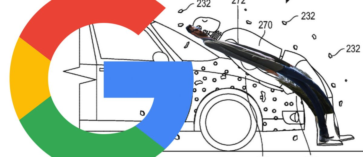 Google Giggle: Latest Automotive Patent Is Human Cow-Catcher - By Carl Malek