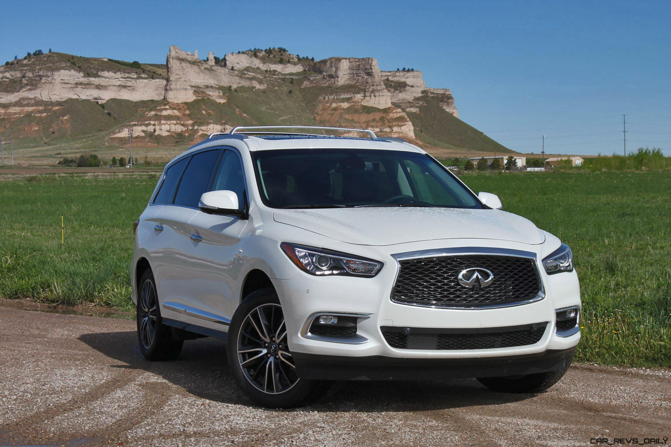 road test review 2016 infiniti qx60 awd by tim esterdahl. Black Bedroom Furniture Sets. Home Design Ideas