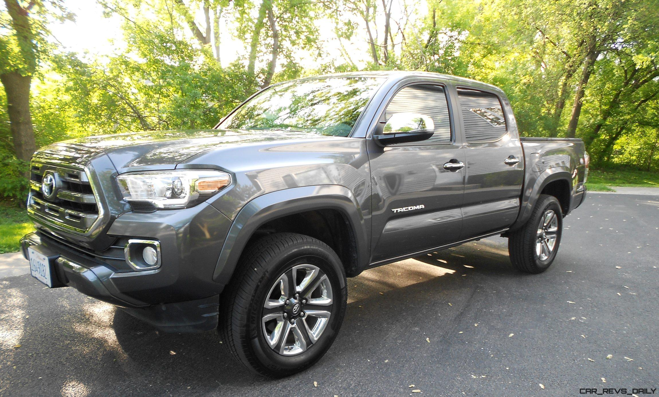 road test review 2016 toyota tacoma limited 4x4. Black Bedroom Furniture Sets. Home Design Ideas
