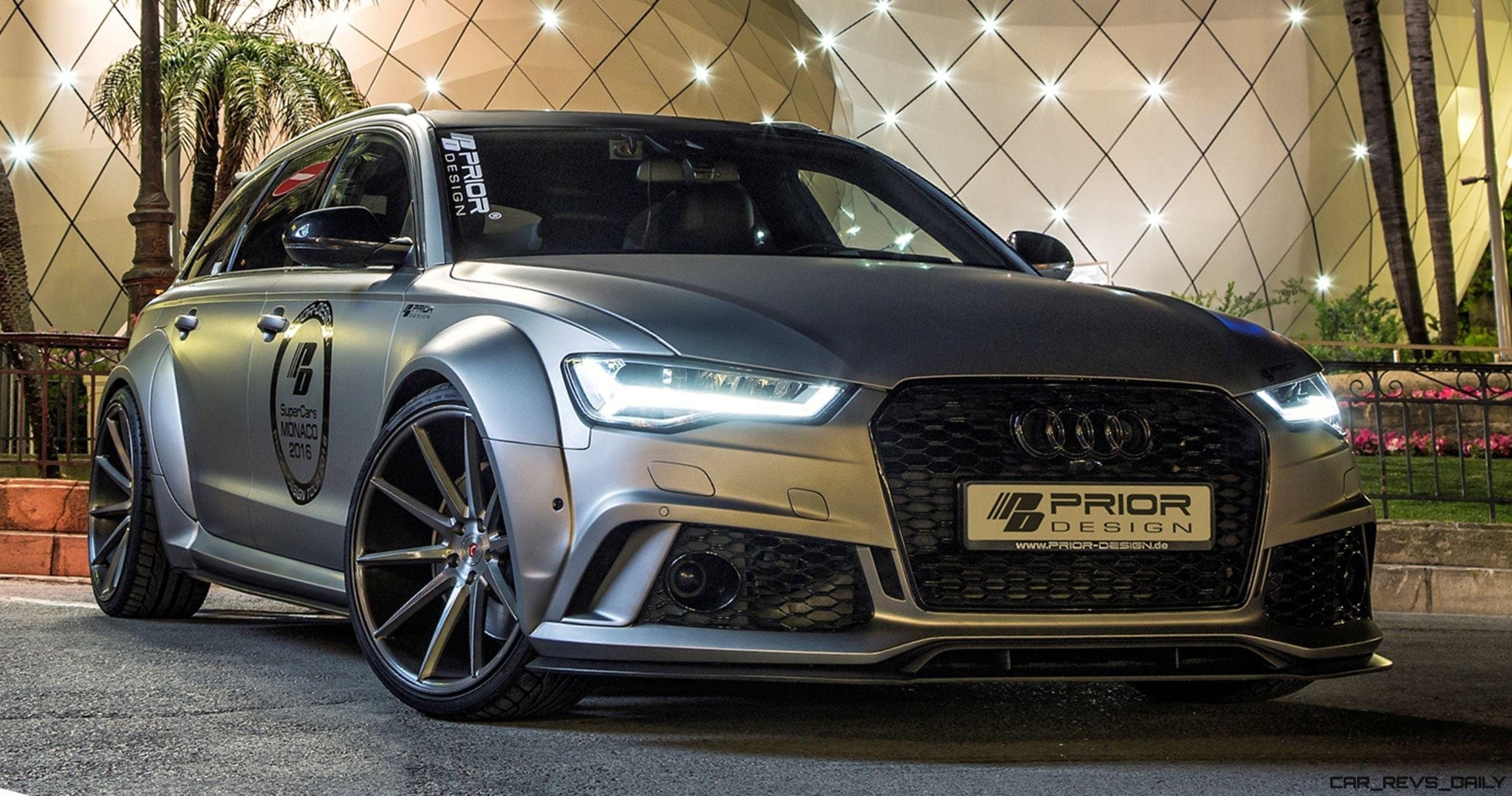 audi a6 s6 rs6 widebody prior design pd600r is hot new. Black Bedroom Furniture Sets. Home Design Ideas