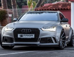 Audi A6/S6/RS6 Widebody! PRIOR-DESIGN PD600R Is Hot New Aerokit