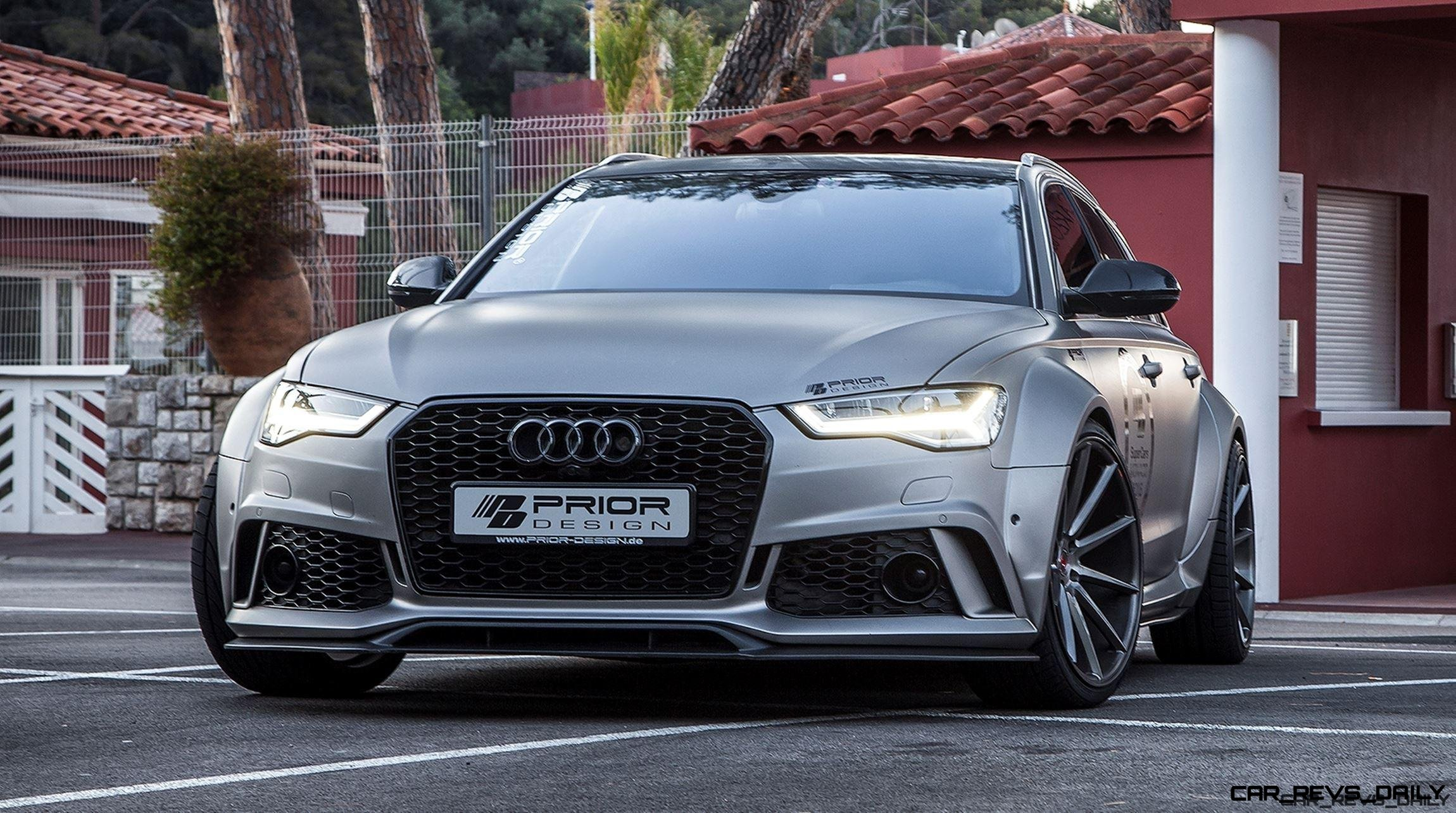 Audi A6 S6 RS6 Widebody PRIOR DESIGN PD600R Is Hot New Aerokit