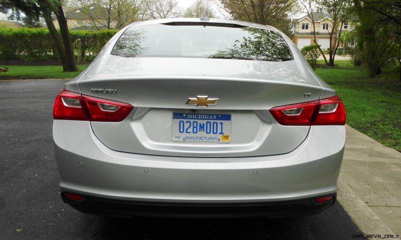Road Test Review - 2016 Chevrolet MALIBU LT 6