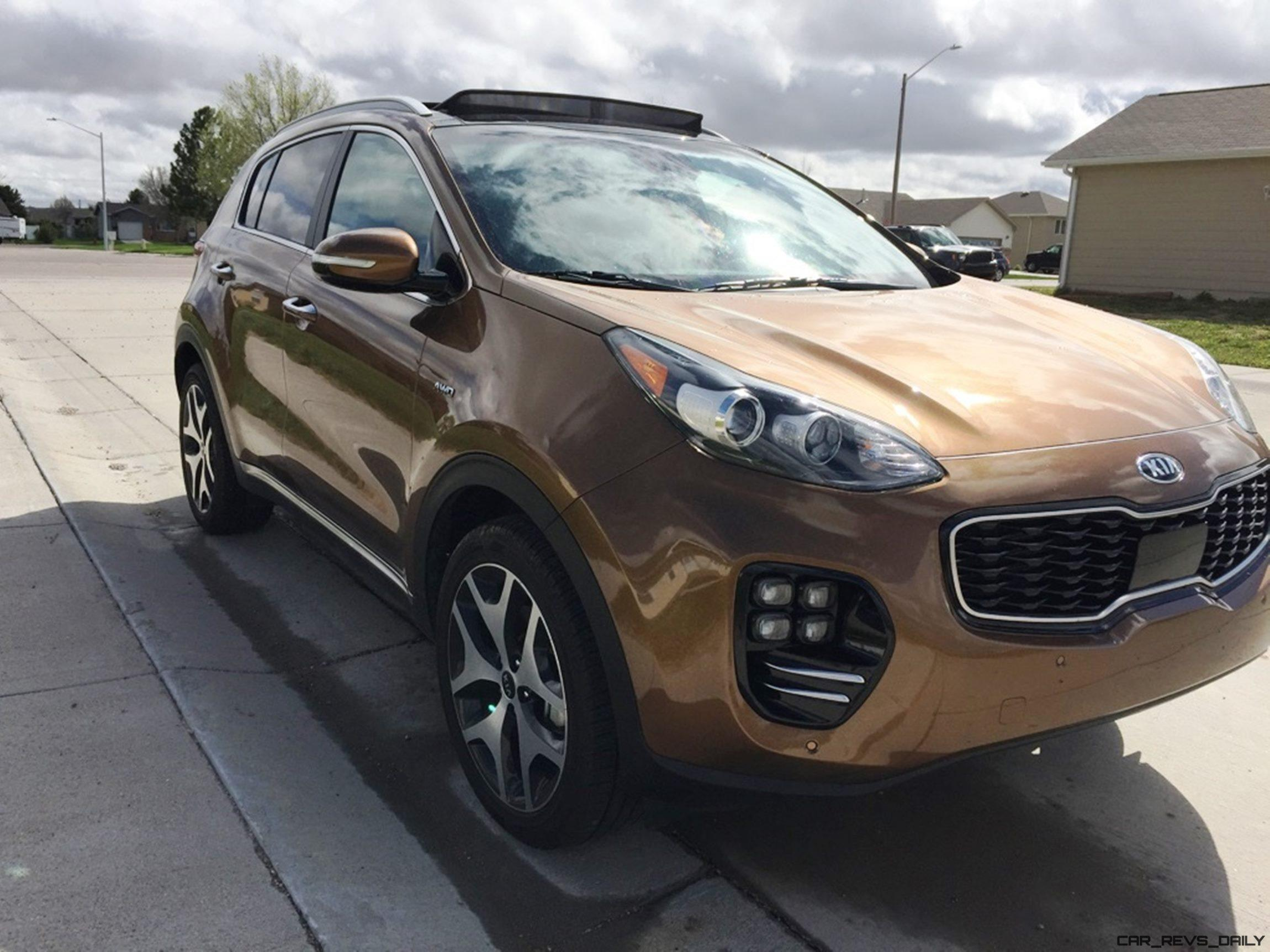 road test review 2017 kia sportage sx awd by tim esterdahl. Black Bedroom Furniture Sets. Home Design Ideas