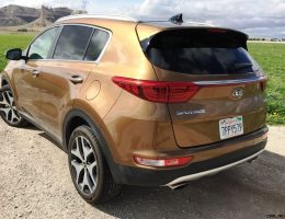 Road Test Review – 2017 KIA Sportage SX AWD – By Tim Esterdahl