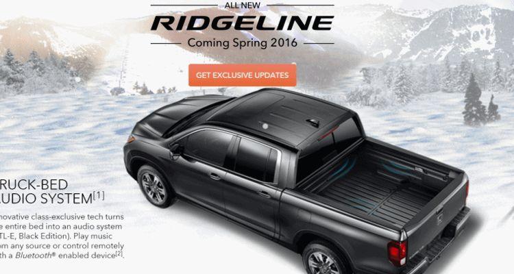 ridgeline rtl-e speaker bed