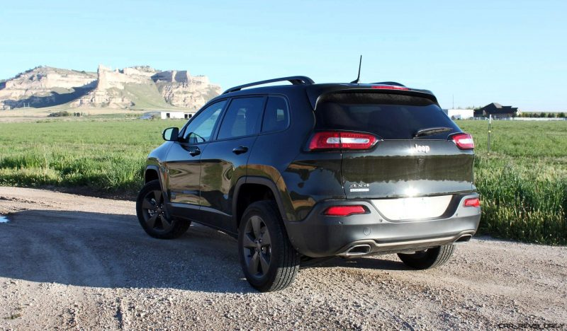 2016 Jeep Cherokee Exterior 4x45 75th Anniversary Edition 1