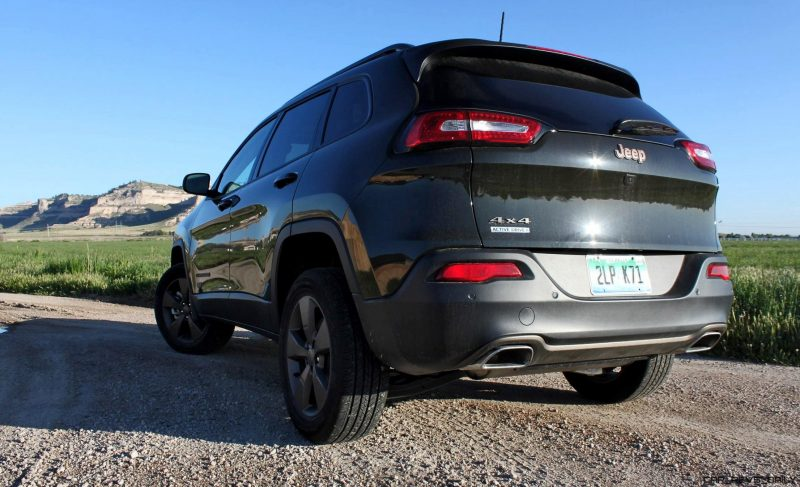 2016 Jeep Cherokee Exterior 4x45 75th Anniversary Edition 2