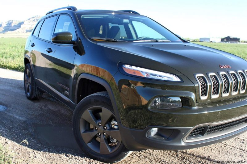 2016 Jeep Cherokee Exterior 4x45 75th Anniversary Edition 7