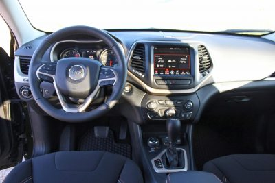2016 Jeep Cherokee Interior 5