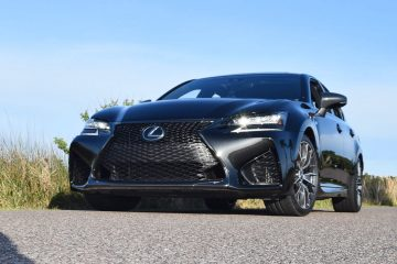 2016 Lexus GS-F Tom Burkart 18