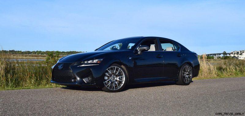 2016 Lexus GS-F Tom Burkart 3