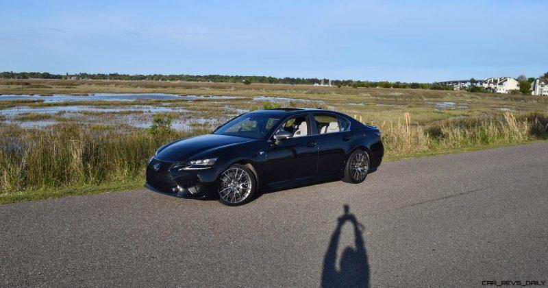 2016 Lexus GS-F Tom Burkart 4