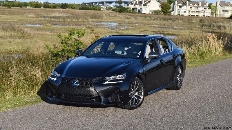 2016 Lexus GS-F Tom Burkart 5