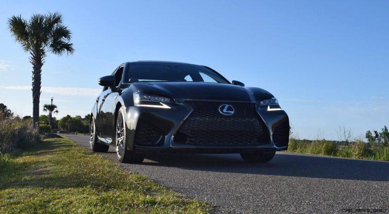 2016 Lexus GS-F Tom Burkart 54