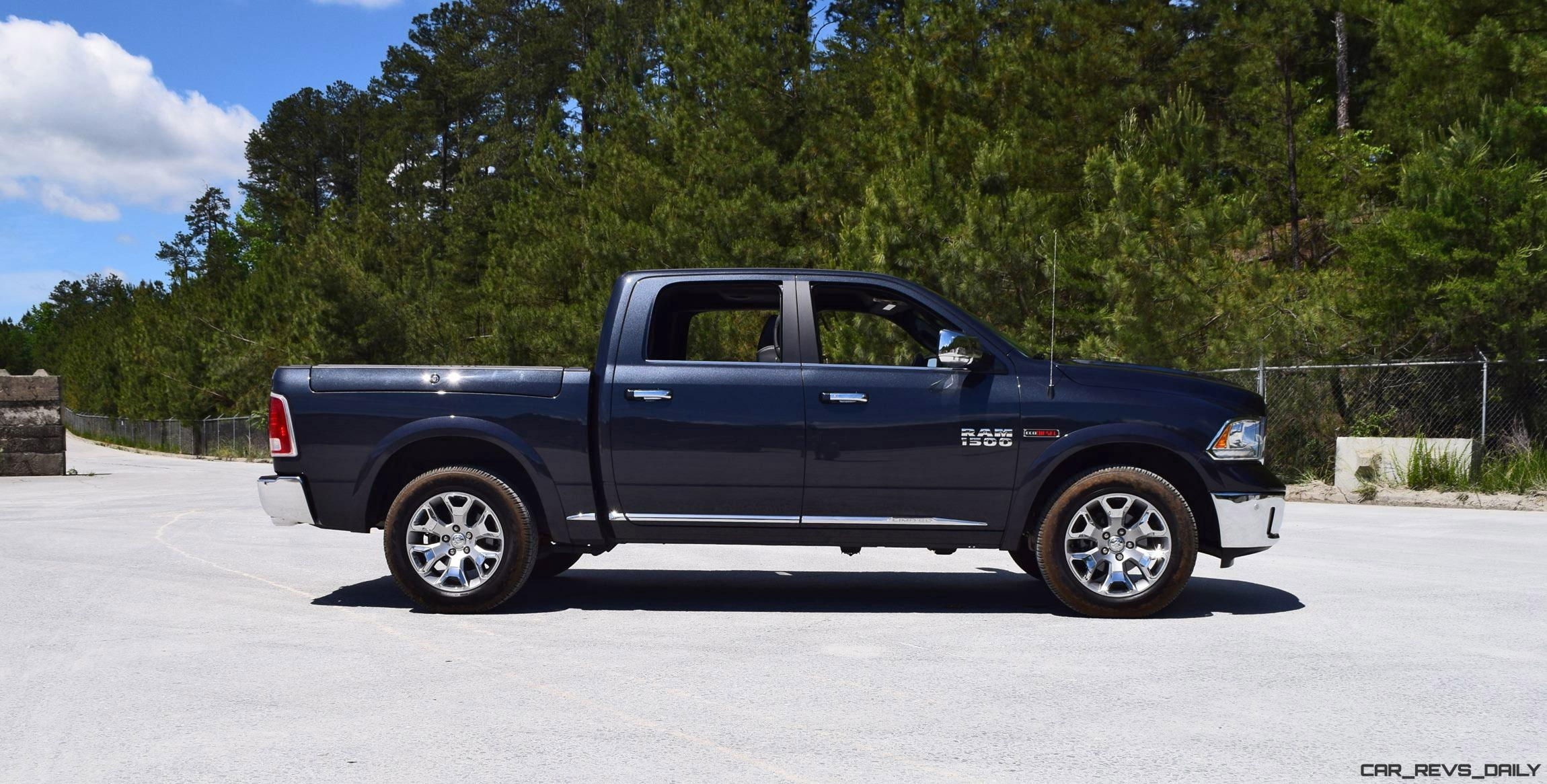 first drive 2016 ram 1500 limited ecodiesel video walkaround and 70 pics car revs. Black Bedroom Furniture Sets. Home Design Ideas