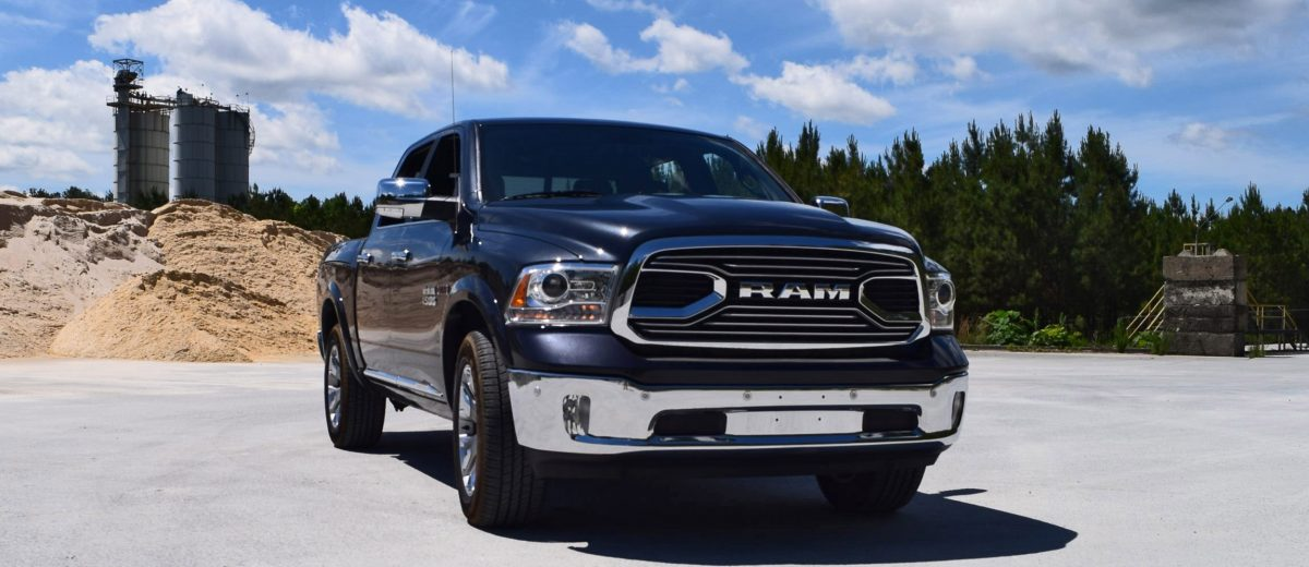 Wonderful First Drive  2016 RAM 1500 LIMITED EcoDiesel  VIDEO