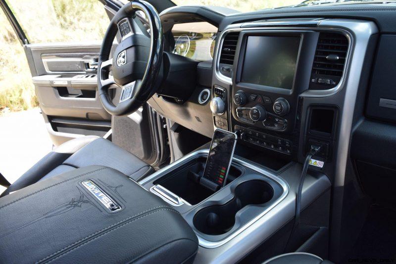 2016 RAM Limited Interior Black 12