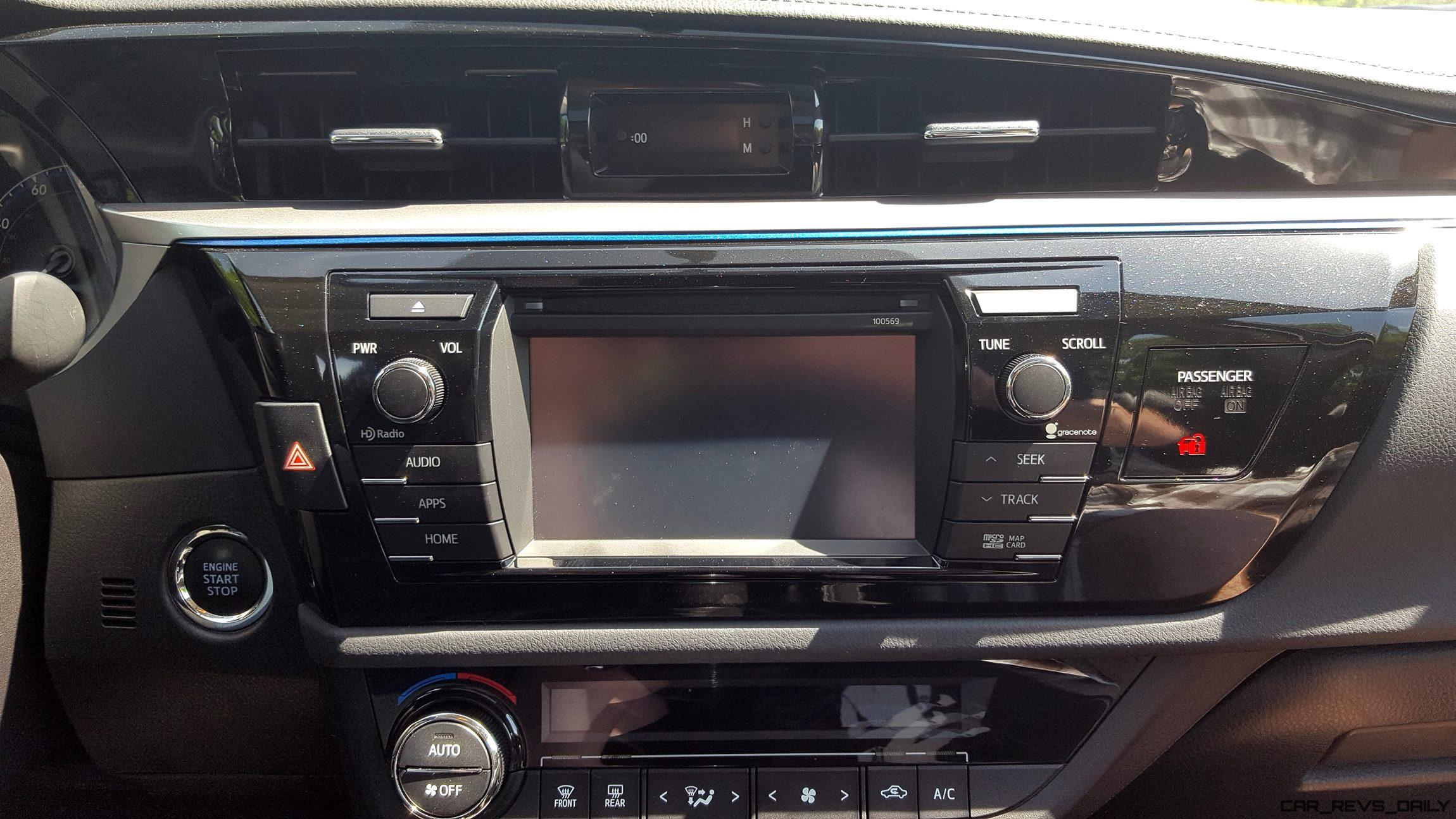 car stereo for toyota corolla 2015