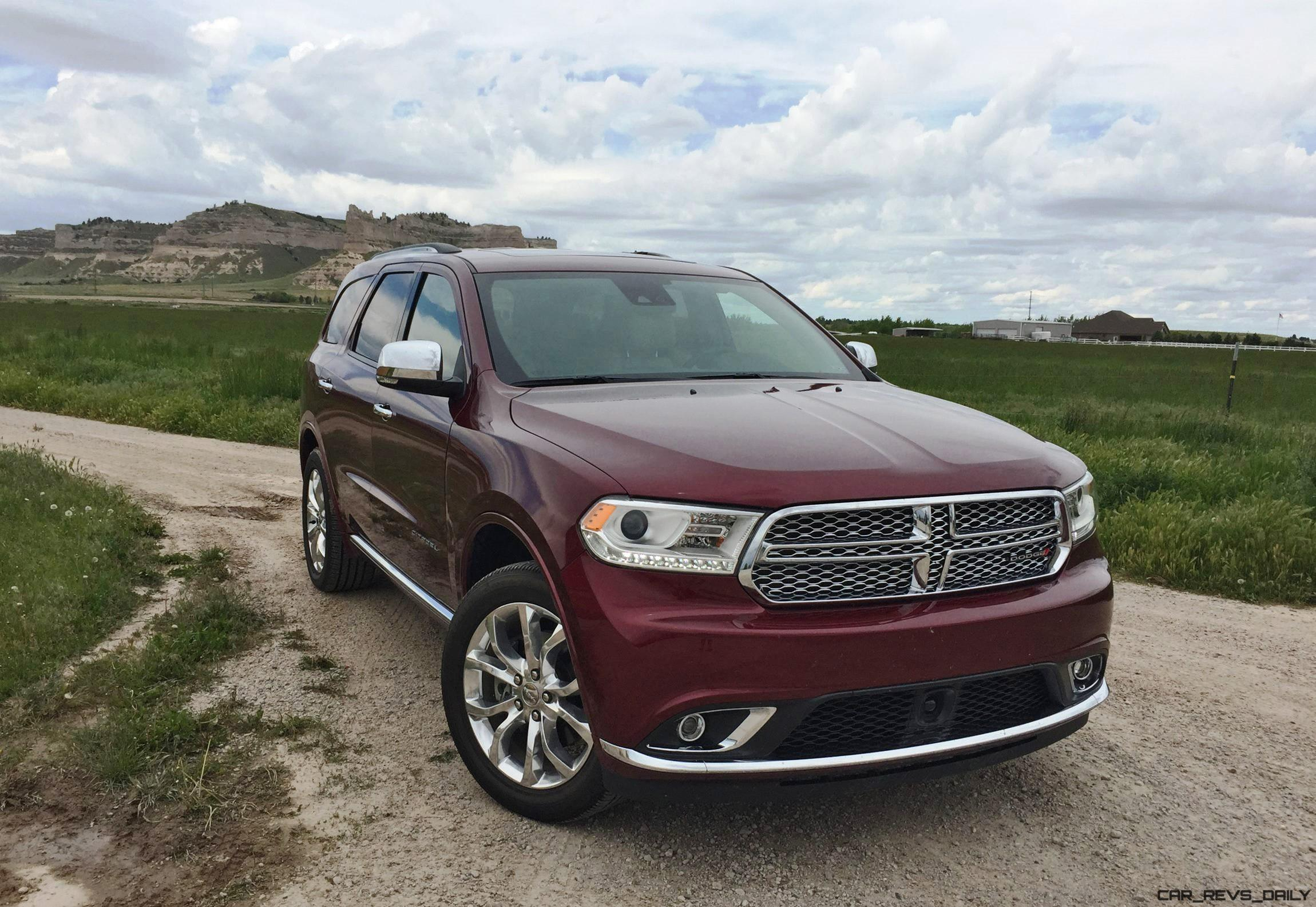 road test review 2016 dodge durango by tim esterdahl. Black Bedroom Furniture Sets. Home Design Ideas