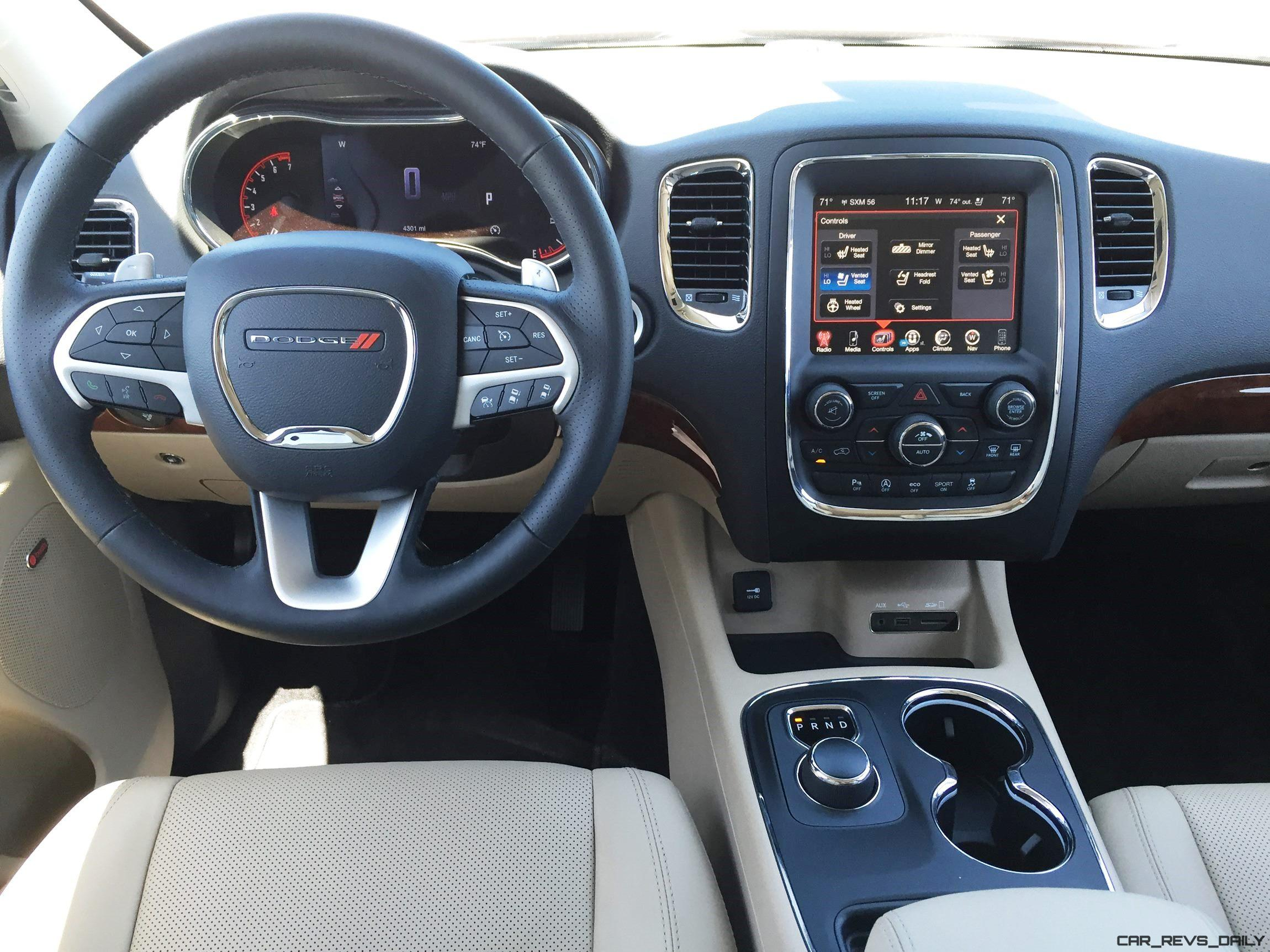 Road test review 2016 dodge durango